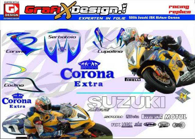 2006 Kit Suzuki SBK Alstare Corona