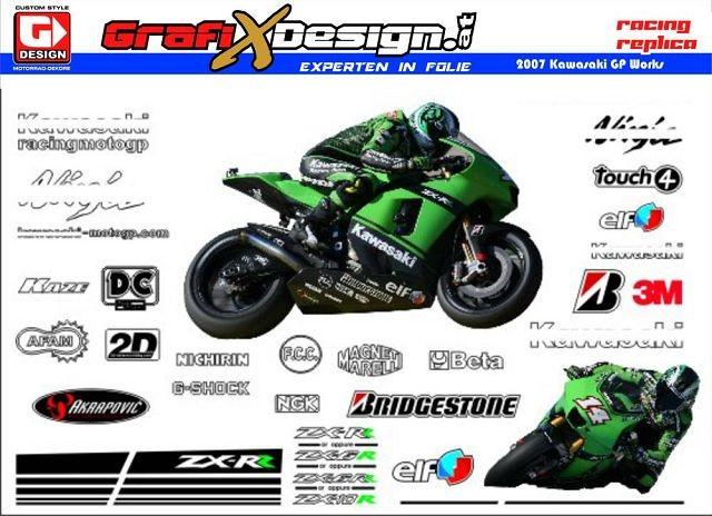 2007 Kit Kawasaki GP Works