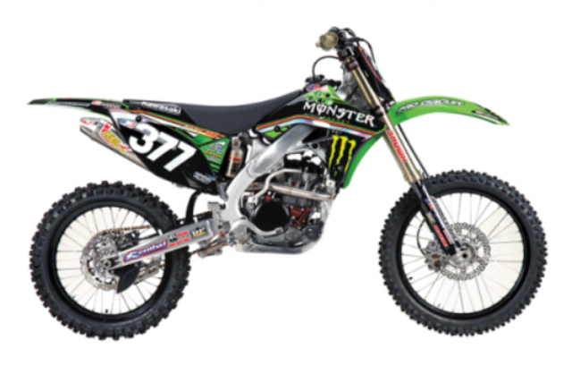 2009 Kawasaki Pro Circuit Monster Energy