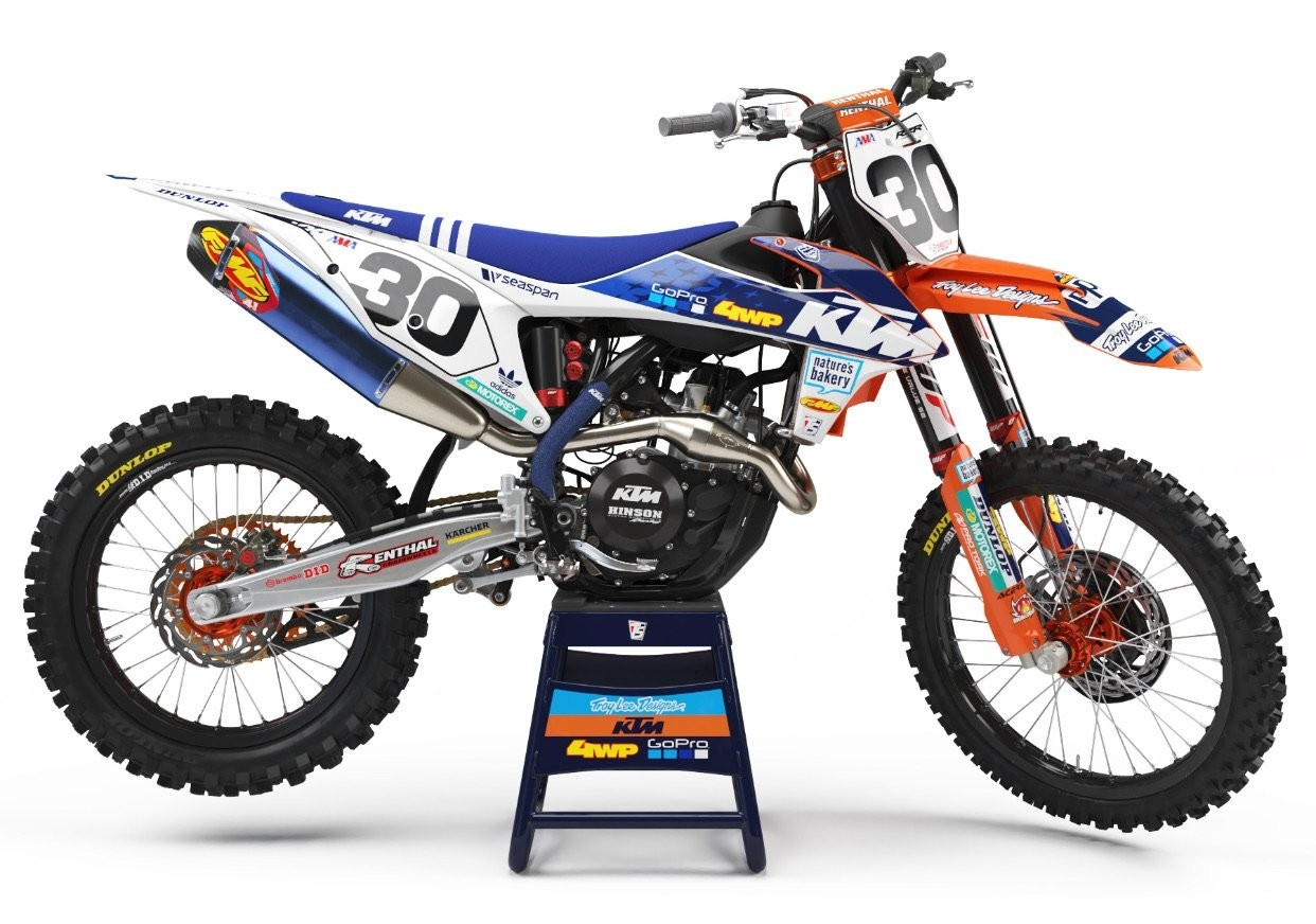2019 KTM TLD Race Team Straight Rhythm