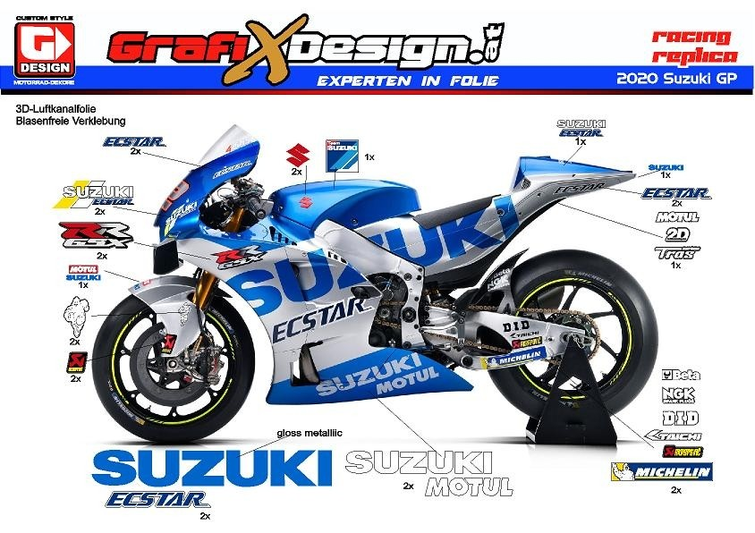 2020 Kit Suzuki GP