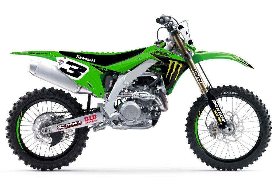 2021 Kawasaki Factory Monster Energy