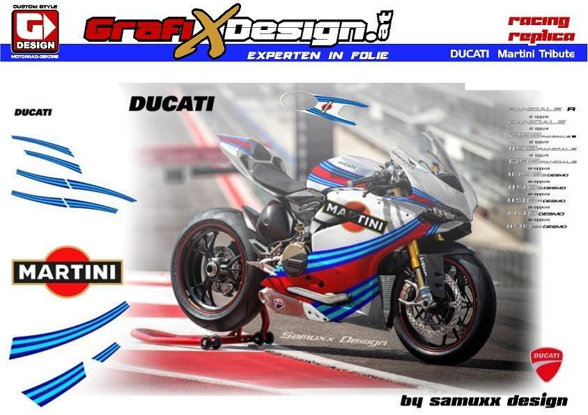 2018 Kit Ducati Martini Tribute