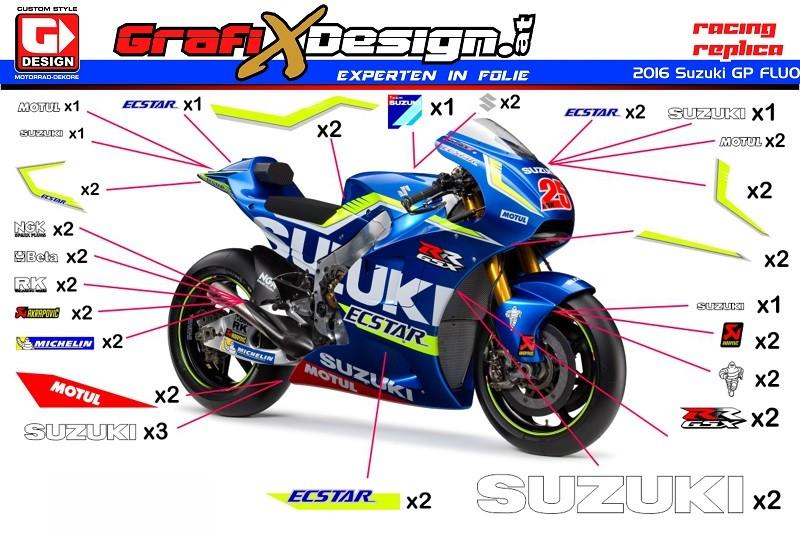 Suzuki Gixxer  Stickering