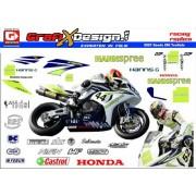 2007 Kit Honda SBK TenKate Hannspree