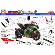 2017 Kit Kawasaki SBK Motocard