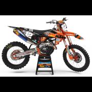 2019 KTM TLD Race Team Black Orange