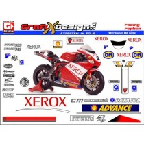 2007 Kit Ducati Superbike Xerox