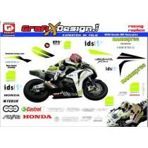 2008 Kit Honda SBK TenKate Hannspree