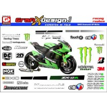 2008 Kit Kawasaki GP Works Monster Energy