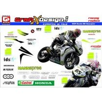 2009 Kit Honda SBK TenKate Hannspree
