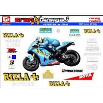 2009 Kit Suzuki GP Rizla