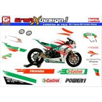 2011 Kit Honda SBK TenKate Castrol