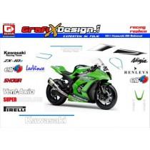 2011 Kit Kawasaki SBK Motocard