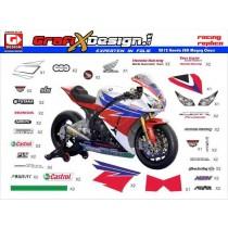 2012 Kit Honda Superbike Magny Cours