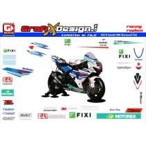 2012 Kit Suzuki SBK Crescent Fixi