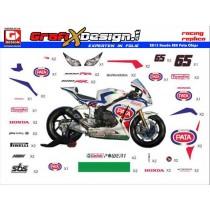 2013 Kit Honda SBK Pata Chips