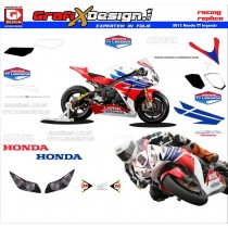 2013 Kit Honda TT Legends