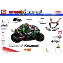 2013 Kit Kawasaki SBK Motocard