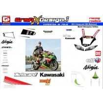 2013 Kit Kawasaki SBK Motocard Champ Edition