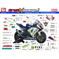 2013 Kit Suzuki SBK Crescent Fixi