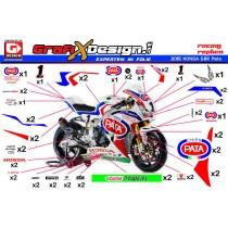 2015 Kit Honda SBK Pata