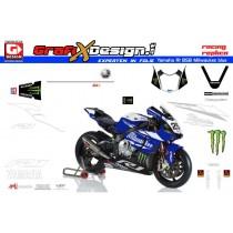 2015 Kit Yamaha R1 BSB Milwaukee blue