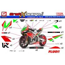 2016 Kit Aprilia SBK RSV4 RF-W FLUO