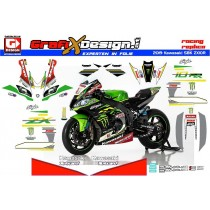 2019 Kit Kawasaki SBK Motocard