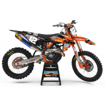 2019 KTM TLD Race Team Black Orange