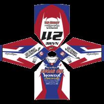 MX-Jersey Honda TLD Lucas Oil