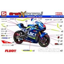 2016 Kit Suzuki GP FLUO