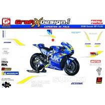 2018 Kit Suzuki GP FLUO